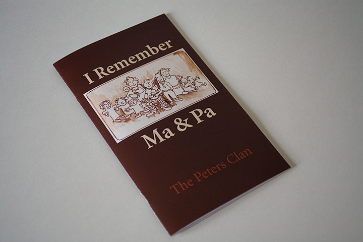 I Remember Ma & Pa book